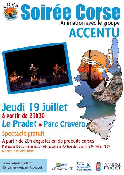 """Soirée Corse """"Stonde di Piace"""" à Le Pradet - 0"""