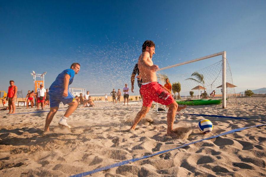 Tournoi de beach soccer à Saint-Mandrier-sur-Mer - 0
