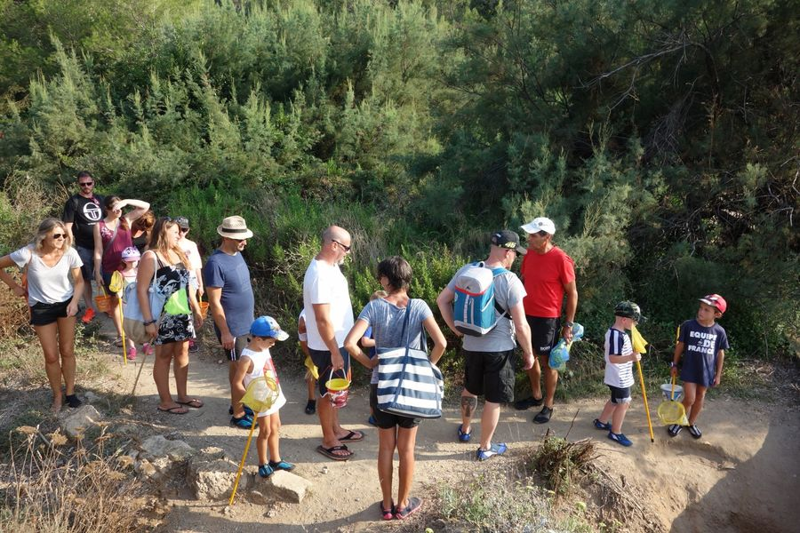 The small coastal course (special children's guided tour) à Hyères - 3