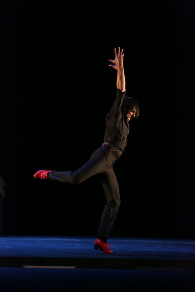 """""""Desplante"""" par Eduardo Guerrero dans le cadre des nuits flamencas à Ollioules - 3"""