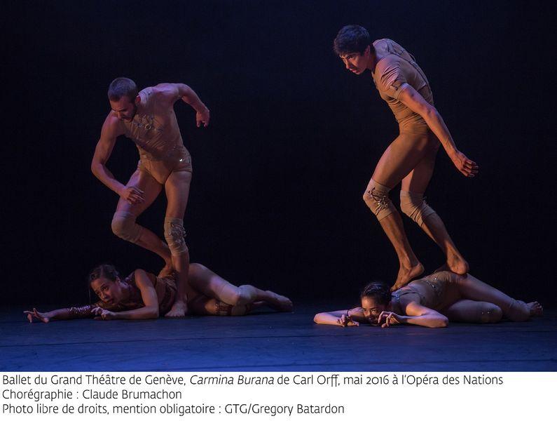 """""""Carmina Burana"""" par le Ballet du grand théâtre de Genève à Ollioules - 1"""