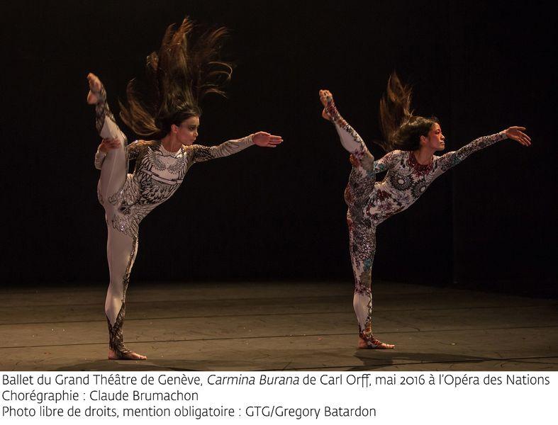 """""""Carmina Burana"""" par le Ballet du grand théâtre de Genève à Ollioules - 3"""