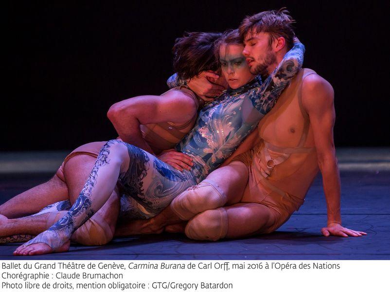 """""""Carmina Burana"""" par le Ballet du grand théâtre de Genève à Ollioules - 4"""