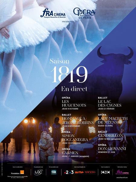 """L'Opéra de Paris en direct : opéra """"Don Giovanni"""" à Six-Fours-les-Plages - 0"""