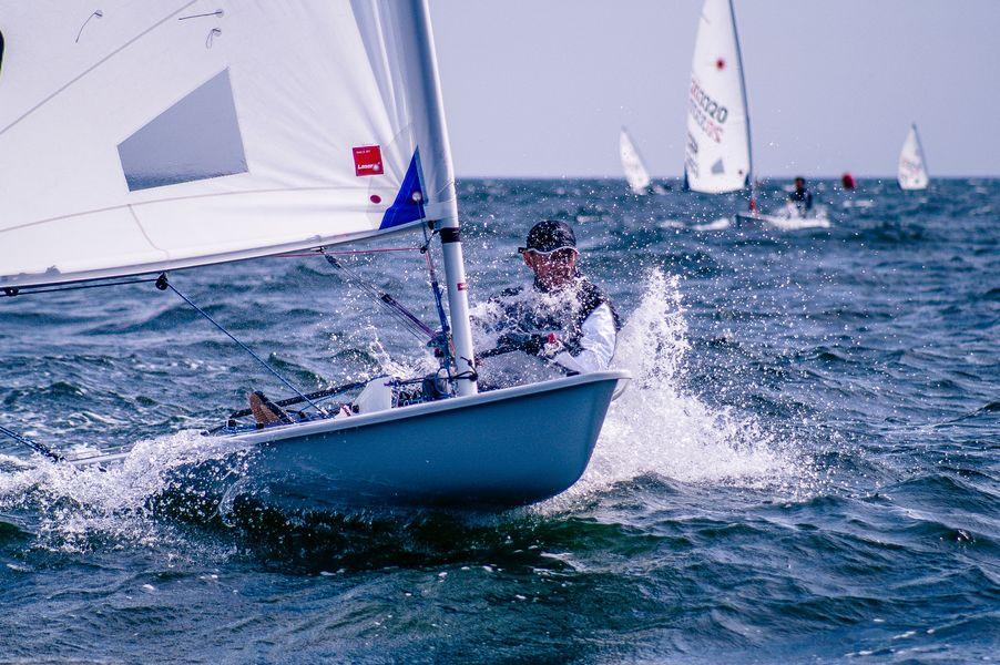 European Championship Laser 4.7 regatta à Hyères - 0
