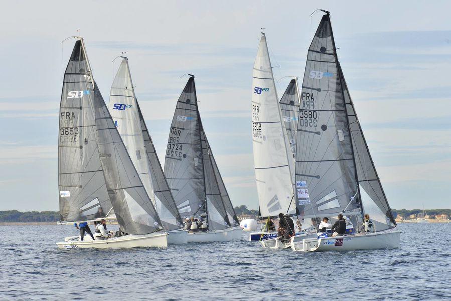 France championship SB20 regatta à Hyères - 0