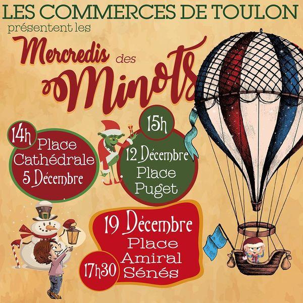 Jeune public – Les mercredis des minots / Le Grouinch' gâcha Noël à Toulon - 0