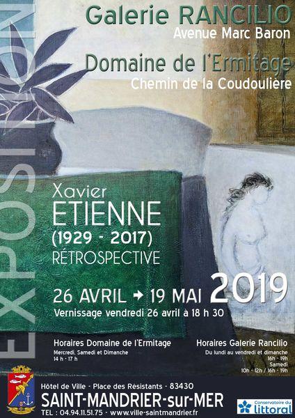 Rétrospective de Xavier Etienne (1929-2017) à Saint-Mandrier-sur-Mer - 0