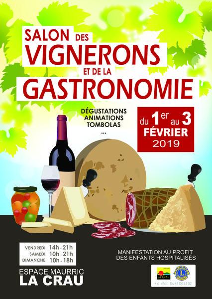 Salon des Vignerons et de la Gastronomie (9ème édition) à La Crau - 0