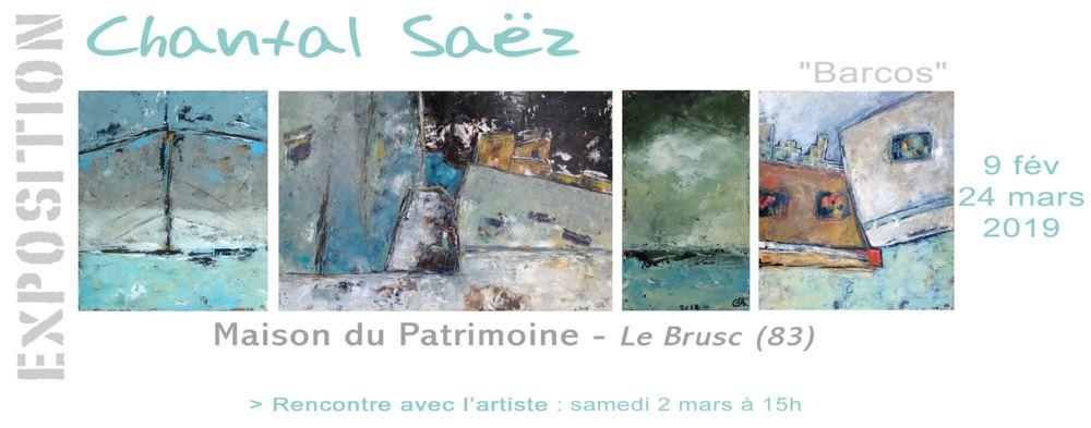 """Exposition """"Barcos"""" de Chantal Saez à Six-Fours-les-Plages - 0"""