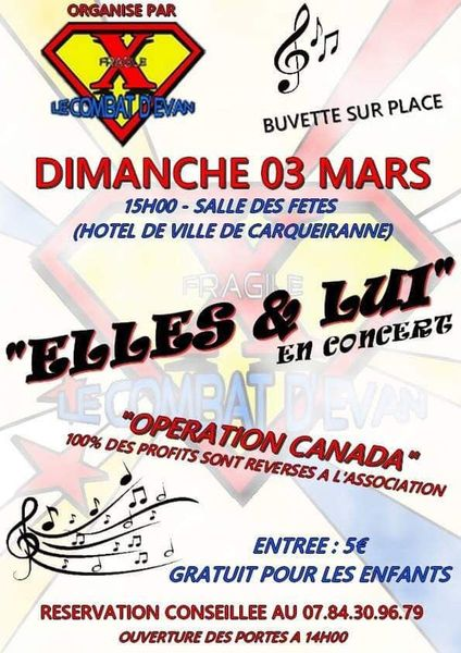 """Concert """"Elles et Lui"""" à Carqueiranne - 0"""