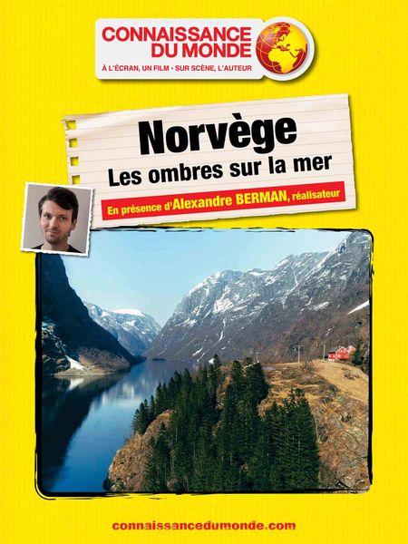 """Connaissance du monde """"Norvège – les ombres sur la mer"""" à Six-Fours-les-Plages - 0"""
