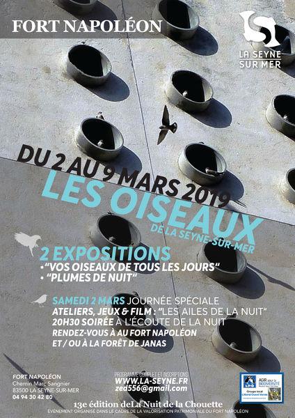 """Exposition """"Les oiseaux de La Seyne sur Mer"""" à La Seyne-sur-Mer - 0"""