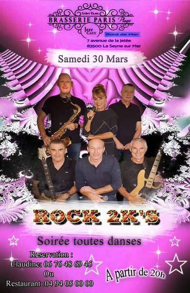Soirée rock et toutes danses avec le groupe 2K'S à La Seyne-sur-Mer - 0