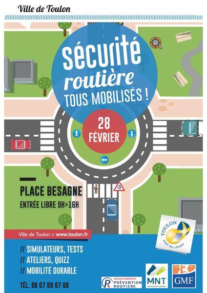 Journée d'ateliers de sécurité routière à Toulon - 0
