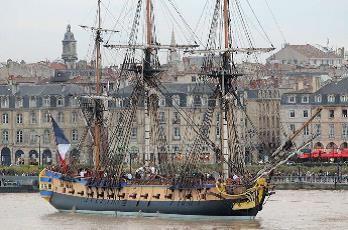 L'Hermione en escale à Toulon à Toulon - 1