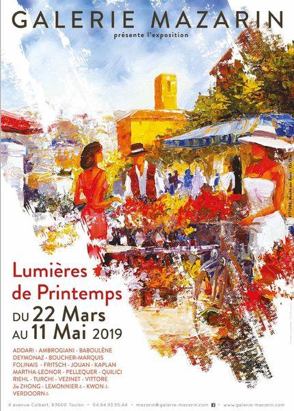 Artistes à découvrir / « Lumières de printemps » à la Galerie Mazarin à Toulon - 0