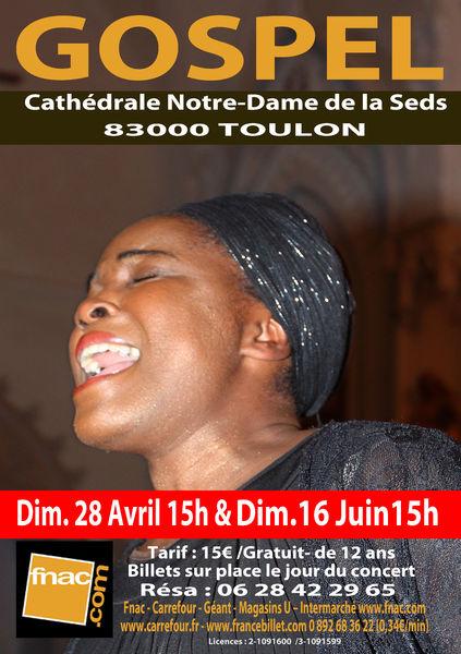 Concert – Gospel Sister Grace à Toulon - 0