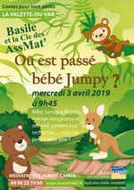 Jeune public – Contes pour tout-petits – Où est passé bébé Jumpy? à La Valette-du-Var - 0