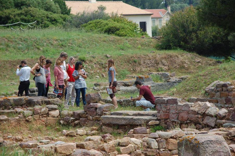 Discover Olbia archaeological site à Hyères - 2