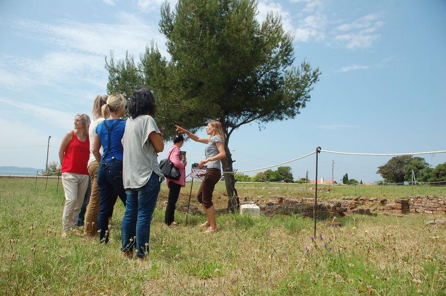 Discover Olbia archaeological site à Hyères - 3