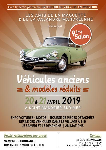 9è salon des véhicules anciens, maquettes et modèles réduits à Saint-Mandrier-sur-Mer - 0