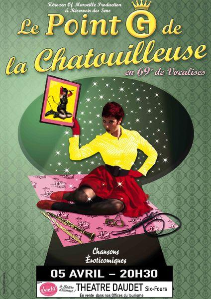 """One woman musical """"Le point G de la chatouilleuse"""" de Laetitia Planté à Six-Fours-les-Plages - 0"""
