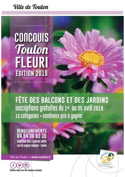 Concours Toulon fleuri – Édition 2019 à Toulon - 0