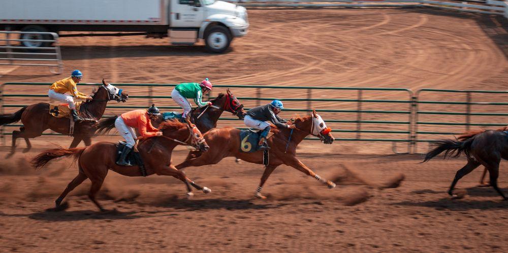 Horse race à Hyères - 1