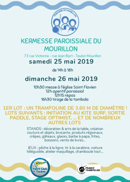 Kermesse paroissiale du Mourillon à Toulon - 1