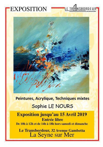 """Expo de peintures """"Entre Ciel et Terre"""" de Sophie Lenours à La Seyne-sur-Mer - 0"""