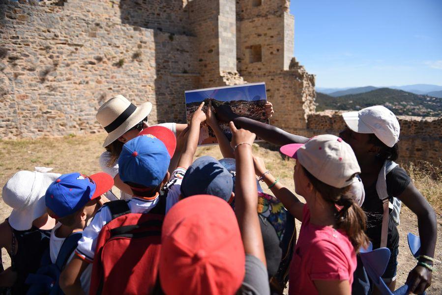 Investigation at hyeres' castle (for children) à Hyères - 1