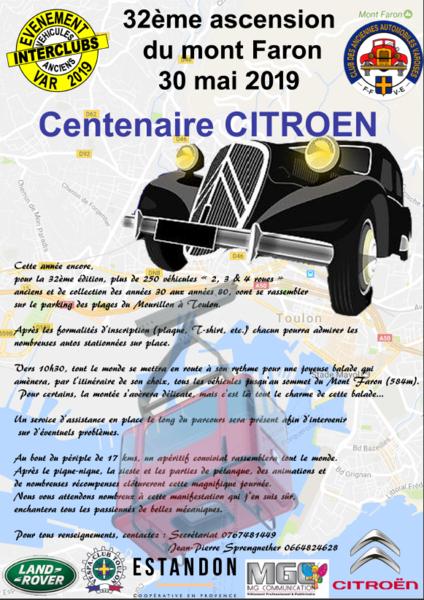 32e Ascension du Faron de véhicules anciens à Toulon - 0