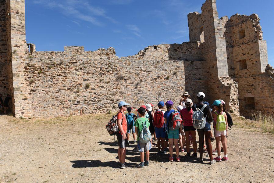 Investigation at hyeres' castle (for children) à Hyères - 4