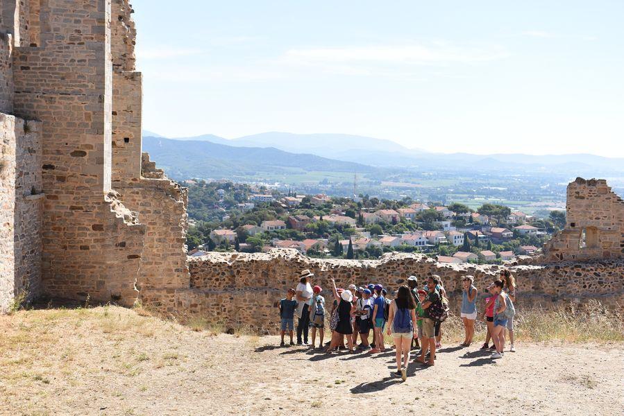Investigation at hyeres' castle (special children's guided tour) à Hyères - 9