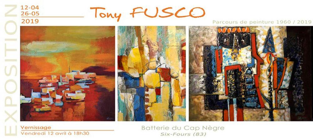 """Exposition """"Parcours de peintre 1960-2019"""" de Tony Fusco à Six-Fours-les-Plages - 0"""