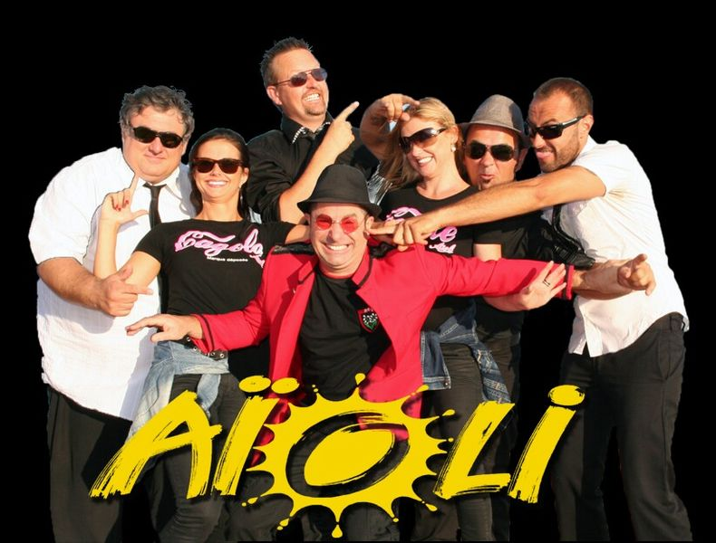 Concert groupe Aïoli à Hyères - 1