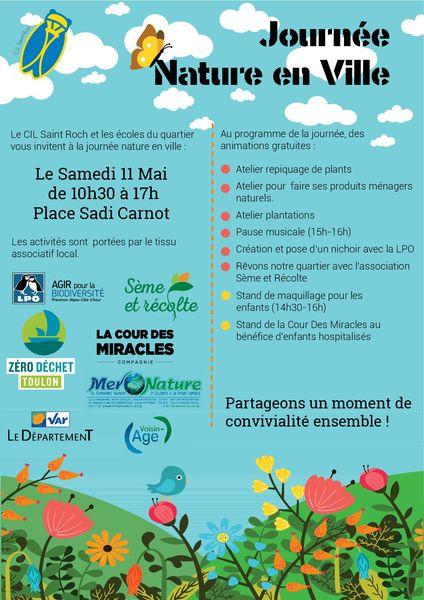 Journée « nature en ville » quartier Saint-Roch à Toulon - 0