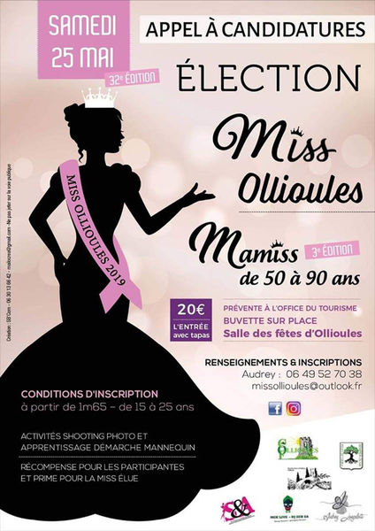 32è édition de Miss Ollioules & 3è édition de Mamiss (de 50 à 90 ans) à Ollioules - 0