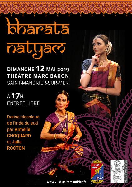 """Spectacle """"Bharata Natyam"""" (danses indiennes) à Saint-Mandrier-sur-Mer - 0"""