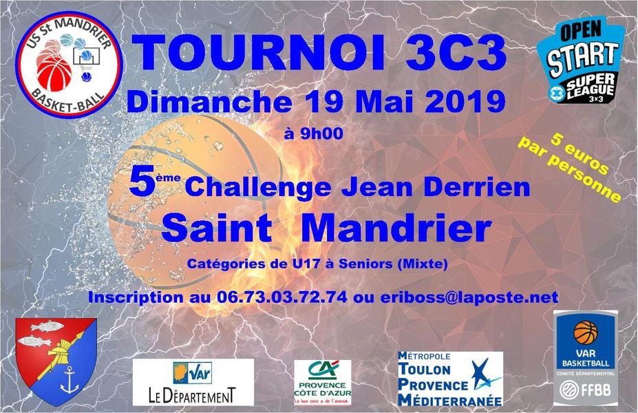 Tournoi de basket : 5è challenge Jean Derrien à Saint-Mandrier-sur-Mer - 0