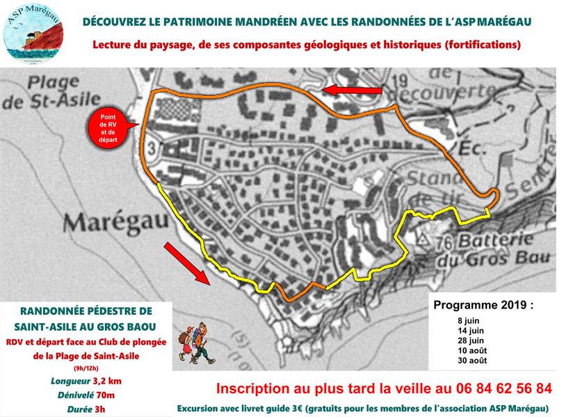 Randonnée pédestre de Saint-Asile au Gros Baou à Saint-Mandrier-sur-Mer - 0