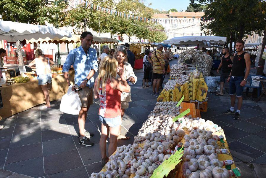Garlic festival à Hyères - 0