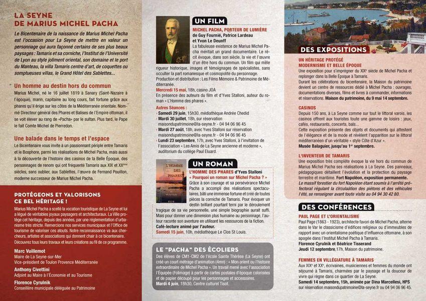 """Bicentenaire Michel Pacha : conférence """"Paul Page et l'orientalisme"""" à La Seyne-sur-Mer - 2"""