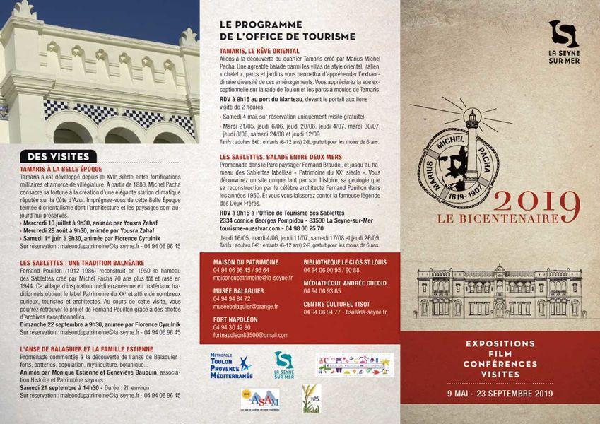"""Bicentenaire Michel Pacha : conférence """"Femmes en villégiature à Tamaris"""" à La Seyne-sur-Mer - 1"""