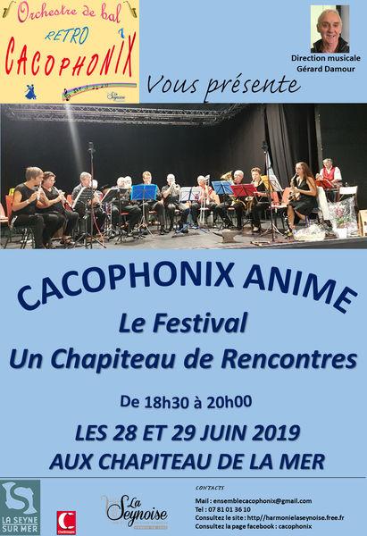 Animation musicale par l'orchestre de bal rétro Cacophonix à La Seyne-sur-Mer - 0