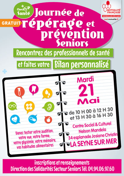 Journée de repérage et prévention des seniors à La Seyne-sur-Mer - 0