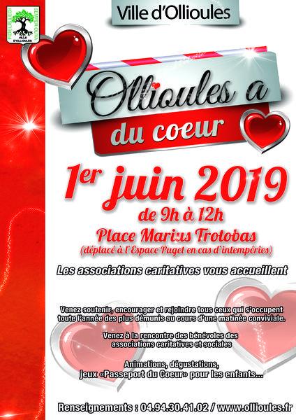 """Ollioules a du cœur """"Hommage aux associations caritatives"""" à Ollioules - 0"""