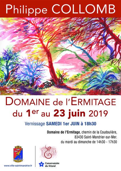 Exposition d'aquarelles de Philippe Collomb à Saint-Mandrier-sur-Mer - 0