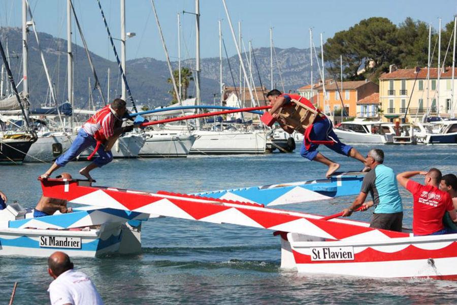 Tournoi de joutes provençales : 5è tour du championnat de Côte d'Azur à Saint-Mandrier-sur-Mer - 0